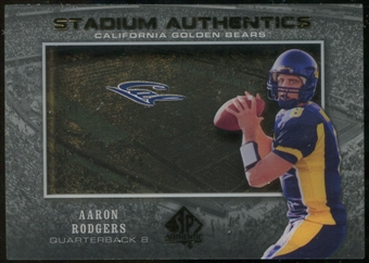 2012 Upper Deck SP Authentic Stadium Authentics #SAAR Aaron Rodgers