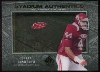 2012 Upper Deck SP Authentic Stadium Authentics #SABB Brian Bosworth
