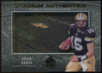 2012 Upper Deck SP Authentic Stadium Authentics #SADB Drew Brees