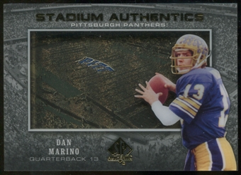 2012 Upper Deck SP Authentic Stadium Authentics #SADM Dan Marino
