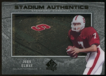 2012 Upper Deck SP Authentic Stadium Authentics #SAEL John Elway