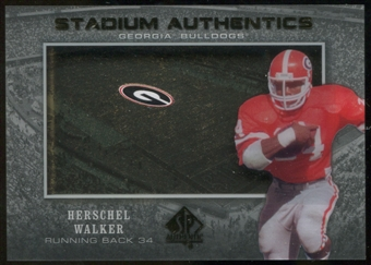 2012 Upper Deck SP Authentic Stadium Authentics #SAHW Herschel Walker