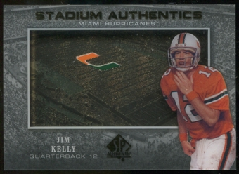 2012 Upper Deck SP Authentic Stadium Authentics #SAJK Jim Kelly