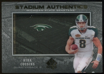 2012 Upper Deck SP Authentic Stadium Authentics #SAKC Kirk Cousins