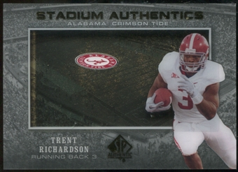 2012 Upper Deck SP Authentic Stadium Authentics #SATR Trent Richardson