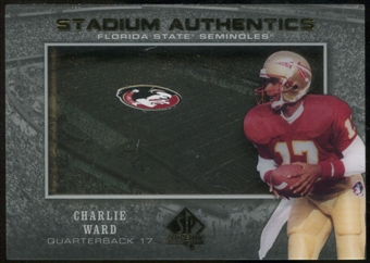 2012 Upper Deck SP Authentic Stadium Authentics #SAWA Charlie Ward