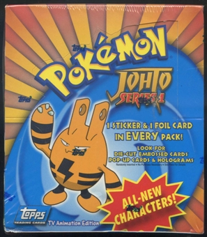 Pokemon TV Animation Edition Johto Series 1 Box (2001 Topps)