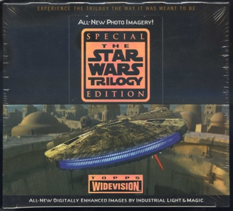 Star Wars Trilogy Widevision Box (1997 Topps)