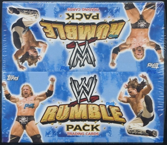 2010 Topps WWE Wrestling Rumble Pack 24-Pack Box