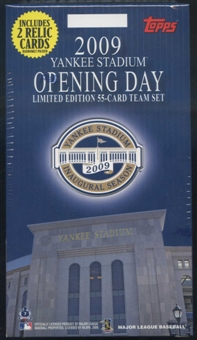 2009 Topps Yankee Stadium Opening Day Set