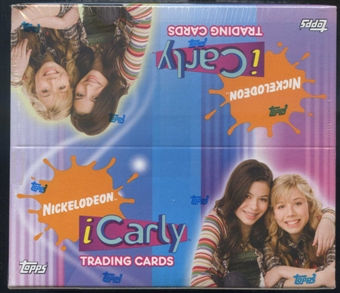 iCarly Nickelodeon Trading Card Box (2008 Topps)