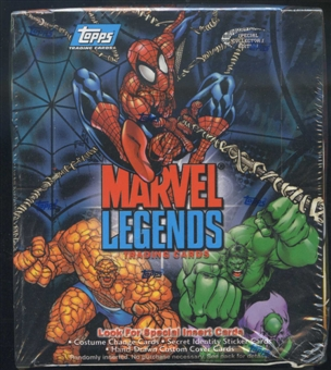 Marvel Legends Trading Cards Box (2001 Topps)