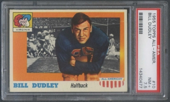 1955 Topps All American Football #10 Bill Dudley PSA 7.5 (NM+) *0477