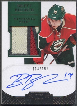 2011/12 Dominion #150 Brett Bulmer Rookie Patch Auto #104/199