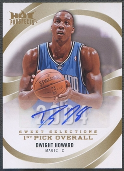 2008/09 Hot Prospects #SSDH Dwight Howard Sweet Selections Auto #13/25