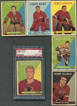 1958/59 Topps Hockey Complete Set (VG-EX)