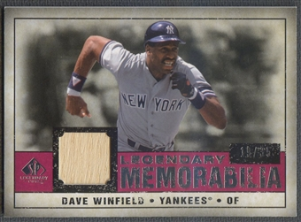 2008 SP Legendary Cuts #DW Dave Winfield Legendary Memorabilia Bat #19/35