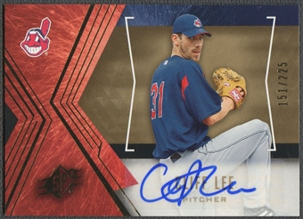 2005 SPx #20 Cliff Lee Signature Auto #151/225