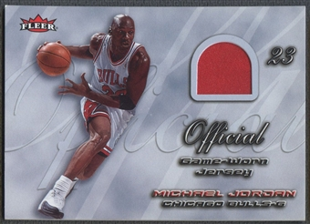 2006/07 Fleer Michael Jordan #7 Michael Jordan Missing Links Jersey