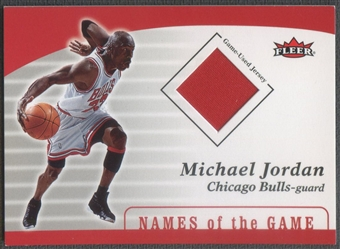 2006/07 Fleer Michael Jordan #4 Michael Jordan Missing Links Jersey