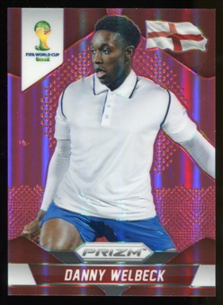 2014 Panini Prizm World Cup Prizms Red #141 Danny Welbeck 141/149