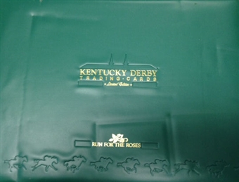 Kentucky Derby Run For The Roses Trading Card Set Limited Edition