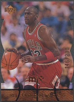 1998 Upper Deck MJx #27 Michael Jordan Timepieces Bronze #146/230
