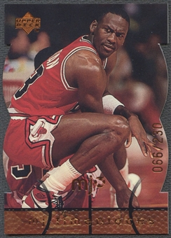1998 Upper Deck MJx #40 Michael Jordan Timepieces Bronze #066/230