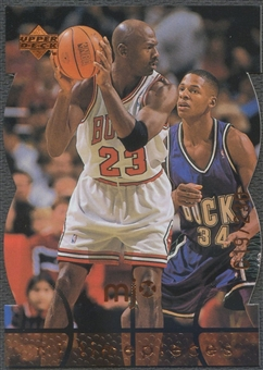 1998 Upper Deck MJx #71 Michael Jordan Timepieces Bronze #019/230