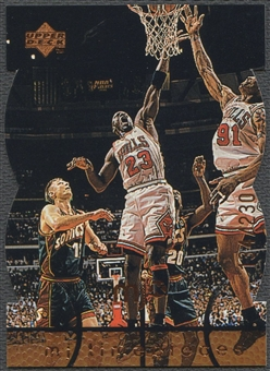 1998 Upper Deck MJx #81 Michael Jordan Timepieces Bronze #134/230
