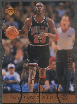 1998 Upper Deck MJx #87 Michael Jordan Timepieces Bronze #109/230
