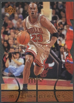 1998 Upper Deck MJx #91 Michael Jordan Timepieces Bronze #058/230