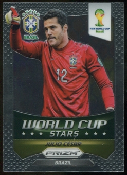 2014 Panini Prizm World Cup World Cup Stars #6 Julio Cesar