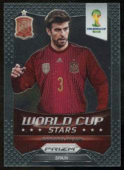 2014 Panini Prizm World Cup World Cup Stars #32 Gerard Pique