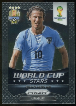 2014 Panini Prizm World Cup World Cup Stars #45 Diego Forlan