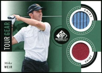 2014 Upper Deck SP Game Used Tour Gear #TGWE Mike Weir C