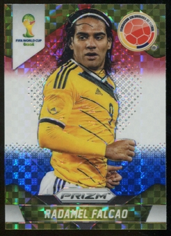 2014 Panini Prizm World Cup Prizms Red White and Blue #53 Radamel Falcao