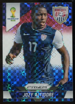 2014 Panini Prizm World Cup Prizms Red White and Blue #71 Jozy Altidore