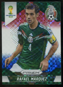 2014 Panini Prizm World Cup Prizms Red White and Blue #145 Rafael Marquez