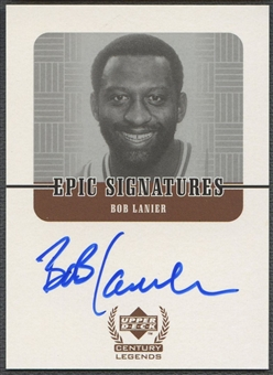 1999 Upper Deck Century Legends #BL Bob Lanier Epic Signatures Auto