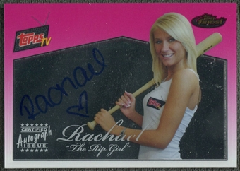 2008 Finest Topps #RGR Rachael The Rip Girl Topps TV Auto