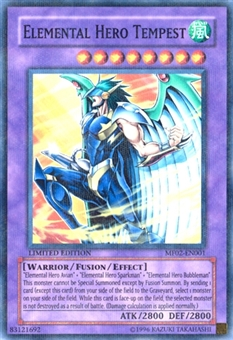 Yu-Gi-Oh Promotional Single Elemental Hero Tempest Ultra Parallel Rare - NEAR MINT (NM)
