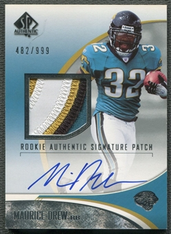 2006 SP Authentic #247 Maurice Jones Drew Rookie Patch Auto #482/999