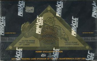 1996 Pinnacle Select Certified Football Hobby Box
