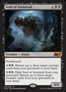 Magic the Gathering Magic 2015 Core Set Single Soul of Innistrad Foil NEAR MINT (NM)
