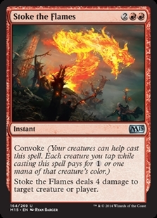Magic the Gathering Magic 2015 Core Set Single Stoke the Flames Foil NEAR MINT (NM)