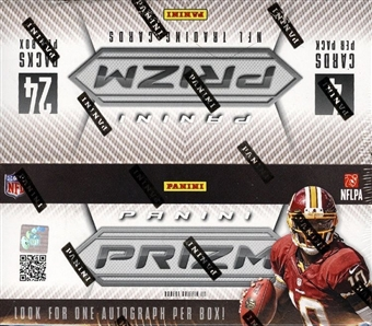 2012 Panini Prizm Football 24-Pack Box - WILSON & LUCK ROOKIES!