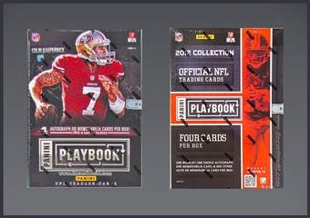 COMBO DEAL - Panini Football Hobby Boxes (2013 Playbook, 2012 Playbook)