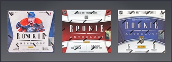COMBO DEAL - Panini Rookie Anthology Hockey Hobby Boxes (2011-12, 2012-13, 2013-14)