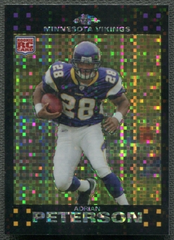 2007 Topps Chrome #TC181 Adrian Peterson Rookie Xfractor